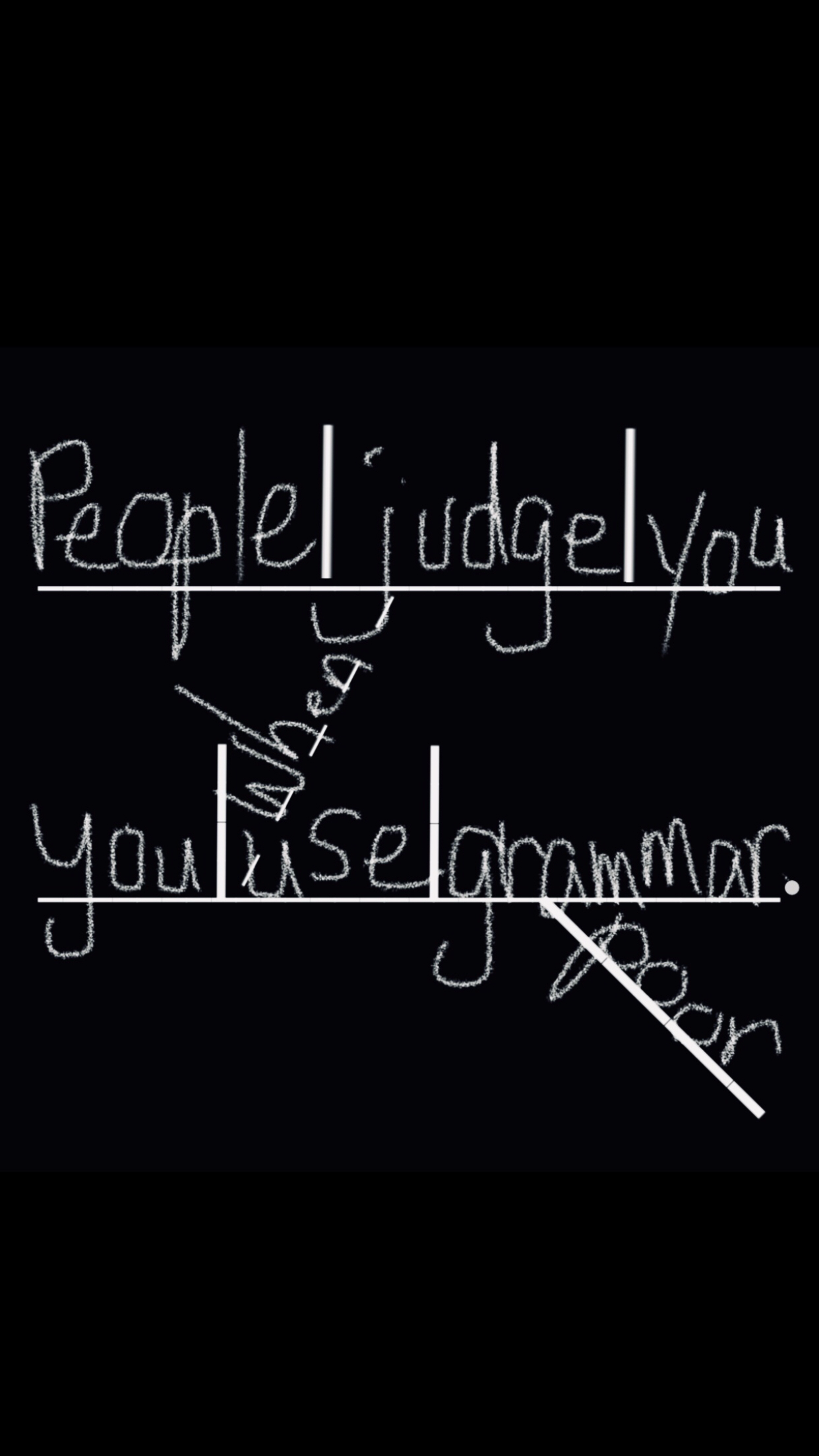 People Judge You