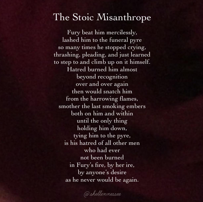 Stoic Misanthrope